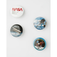 Astronaut Button Set