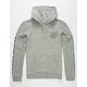 BRIXTON Oath Heather Mens Hoodie