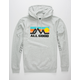 ALL GOOD Grey Horizon Mens Hoodie