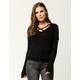 FULL TILT Essential Criss Cross Womens Sweater