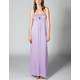 FULL TILT Empire Stitch Maxi Dress