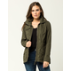 ASHLEY Solid Womens Anorak Jacket