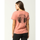 VOLCOM Palms Out Womens Pocket Tee