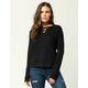 DESTINED Lace Up Womens Sweatshirt