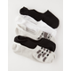5 Pack Elephant Womens No Show Socks