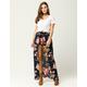 IVY & MAIN Floral Walk Thru Maxi Skirt
