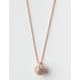 FULL TILT Fireball Dainty Necklace