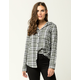HURLEY Wilson Womens Hooded Flannel Shirt