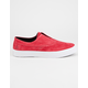 HUF Dylan Slip On Red Mens Shoes