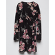 IVY & MAIN Floral Girls Wrap Dress