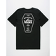 VANS Coffin Lockup Mens Pocket Tee