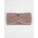 Plush Knit Headband