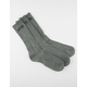 VANS 3 Pairs Classic Mens Crew Socks