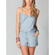 FULL TILT Chambray Romper