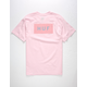 HUF Bar Logo Mens T-Shirt