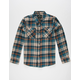 SHOUTHOUSE Rowan Boys Flannel Shirt