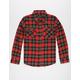 SHOUTHOUSE Beaver Boys Flannel Shirt