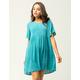 H.I.P. Ruffle Sleeve Babydoll Dress