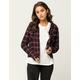 RVCA In A Haze Womens Flannel Shirt