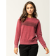 RVCA Stripe Wash Womens Sweatshirt