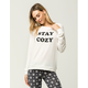 COSMIC LOVE Stay Cozy Womens Sweatshirt