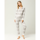 COSMIC LOVE Fair Isle Womens Fleece Onesie