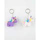 Unicorn Squishy Keychain