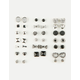 FULL TILT 20 Pairs Bow Earrings