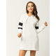 SOCIALITE Stripe Band Womens Hoodie Dress