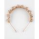 FULL TILT Metallic Flowers Headband