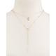 FULL TILT Moon Lariat Necklace