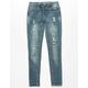 VANILLA STAR PREMIUM Rip & Repair Girls Ripped Jeans