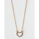 FULL TILT Heart Dainty Necklace