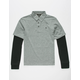VOLCOM Wowzer 2fer Boys Polo Shirt