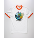 BRIXTON By Fartco Smoker Mens Ringer Tee