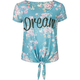 WORKSHOP Dream Womens Tie Front Tee