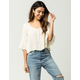 AMUSE SOCIETY Cloudscape Womens Top