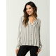 AMUSE SOCIETY Quiet Lights Womens Top