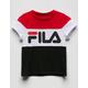 FILA Colorblock Girls Tee
