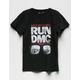 RUN DMC Lace Front Girls Tee