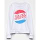 SKY AND SPARROW Pepsi-Cola Girls Sweatshirt