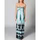 FULL TILT Empire Stitch Tie Dye Dress
