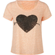 FULL TILT Arrow Heart Womens Open Back Tee