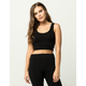 BOZZOLO Strappy Side Womens Crop Tank