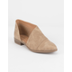 QUPID Open Side Pointy Toe Womens Booties