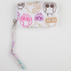 Owl Print Cell Phone Wallet