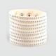 FULL TILT Faux Suede Multi Row Stud Bracelet