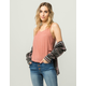 BOZZOLO Loose Womens Tank