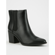 SODA Heeled Womens Chelsea Boots