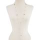FULL TILT Pearl Lariat Necklace